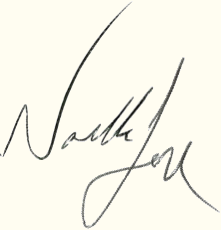 Noelle and Jon Signatures